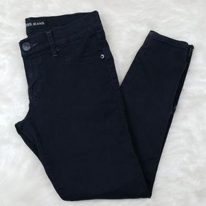 Express extreme stretch Stella black ankle jeans